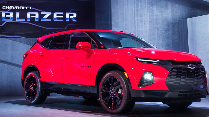 2021 chevy trailblazer rs colors release date redesign